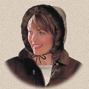 sheepskin bonnet